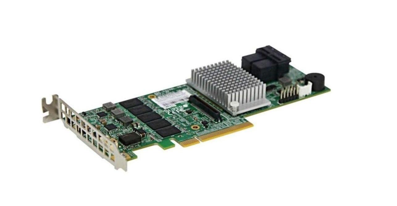 Supermicro 12GB/s Eight-Port Sas PCI-E 3.0 Internal Raid Adapter AOC-S3108L-H8IR