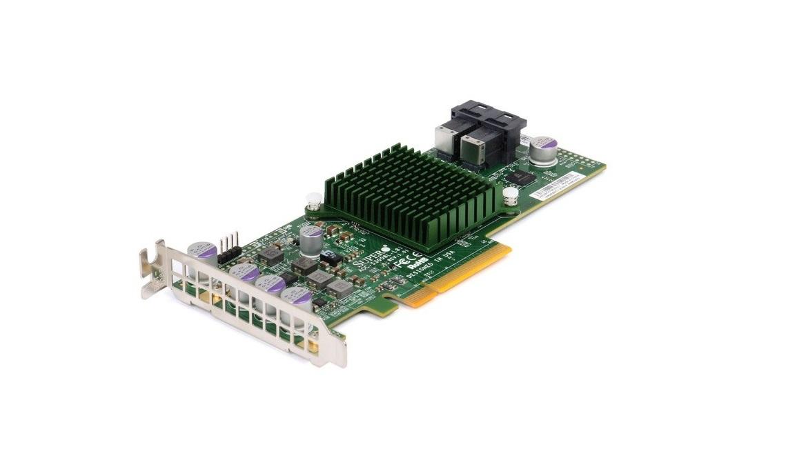 Supermicro 12GB/s Eight-Port Sas Pci Express Internal Raid Adapter Controller AOC-S3008L-L8E