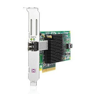 HP 81e Single Port PCI-E HBA AJ7626-3001 w/ Transceiver AJ76263001