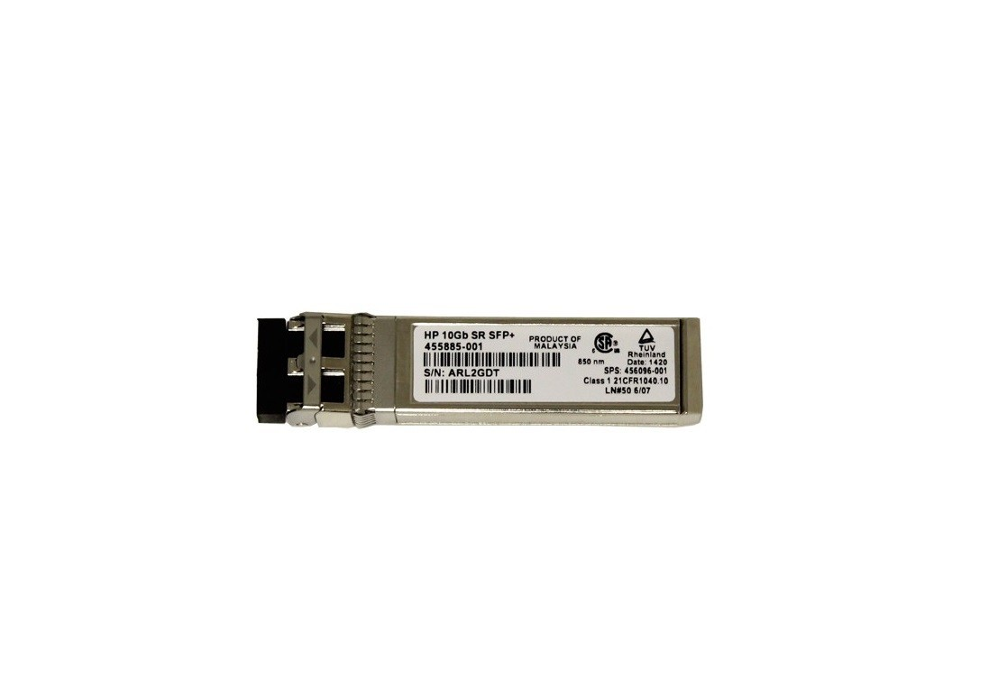 10GBPS Short Reach SFP+ Optical 455885-001