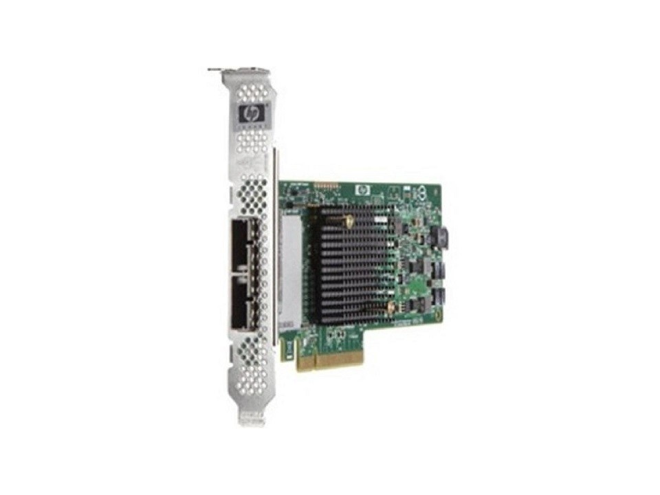 Hp H221 8CHANNEL PCI-E 2.0 X8 Sas Host Bus Adapter 660087001 660087-001