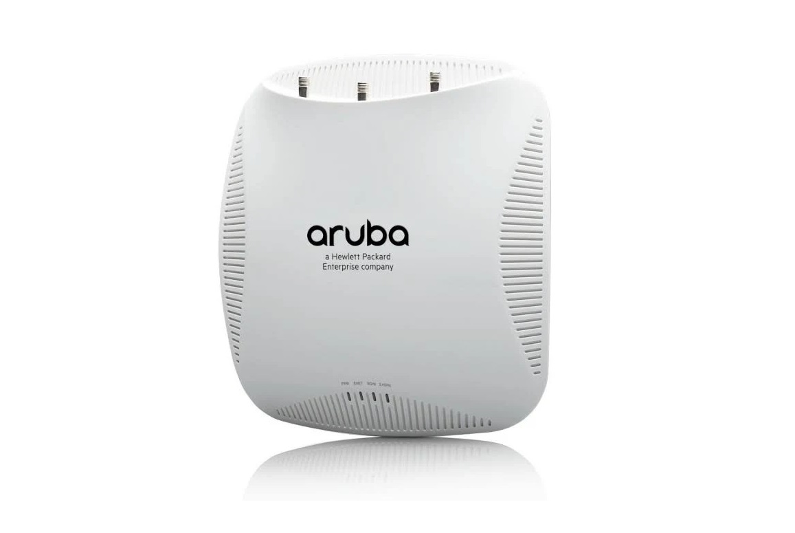 HP Aruba IAP-214 2.4GHz 1.3Gbps In-ceiling PoE+ Access Point JW225A
