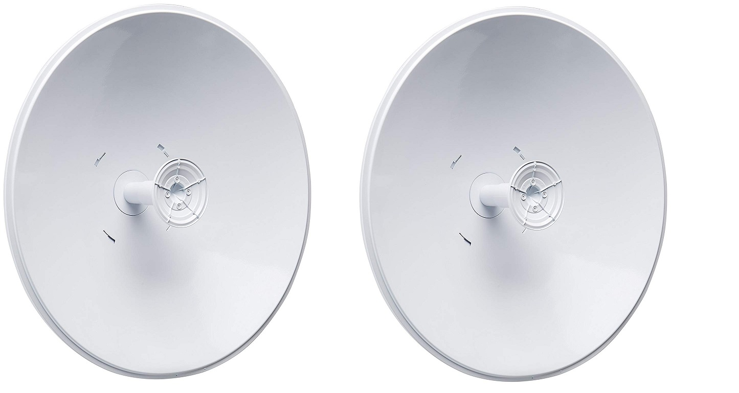Ubiquiti 30 DBI Antennas For Airfiber AF-5X 5GHz Carrier Backhaul Radio Pack of 2 AF-5G30-S45