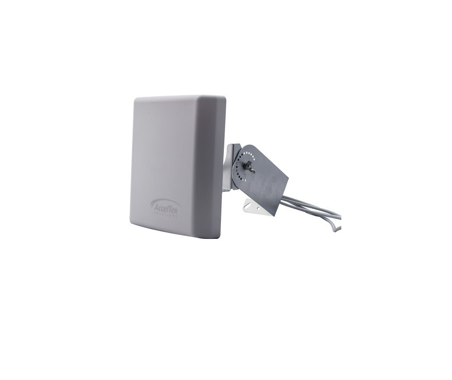 Acceltex 2.4/5GHz 13dBi 4 Element High Density Patch Antenna With N-Style ATS-OHDP-245-13-4NJ-IC
