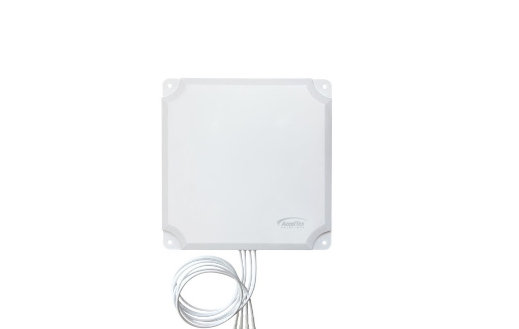 Acceltex 2.4/5GHz 13 Dbi 4 Element Indoor/Outdoor Patch Antenna ATS-OP-245-13-4RPTP-36