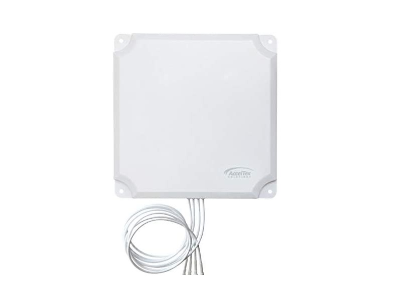 Acceltex Solutions 2.4-2.485/5.15-5.85GHz Patch Antenna With N-Style ATS-OP-245-13-4NP-36