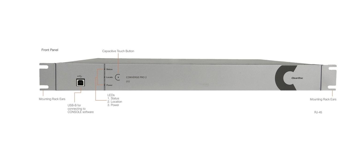 Clearone Converge Pro 2 012 Audio DSP Mixer 910-3200-007