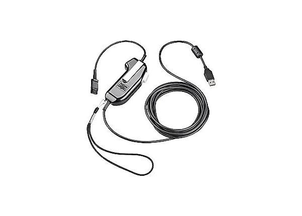 Plantronics Shs 92626-11 Usb Push-To-Talk Adapter