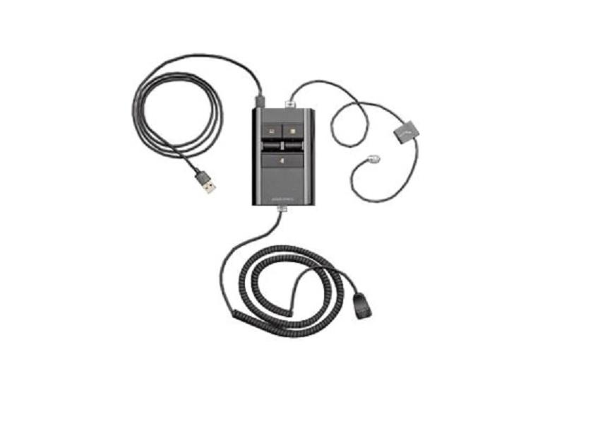 Plantronics MDA500 Series MDA526 Qd USB-A Smart Headset Switch 212166-01