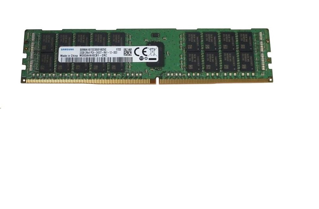 32GB Samsung DDR4 2400MHz PC4-19200 CL17 ECC Registred 288pin Server Memory M393A4K40CB1-CRC