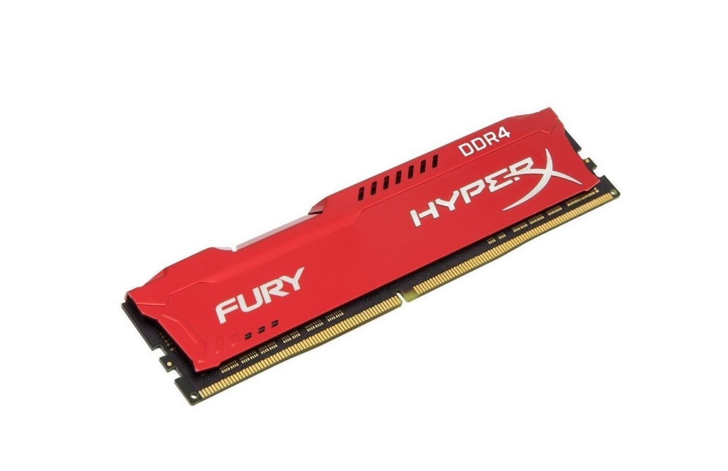 16GB HyperX Fury DDR4 2666MHz PC4-21300 CL16 Non-ECC 288pin Kingston HX426C16FR/16