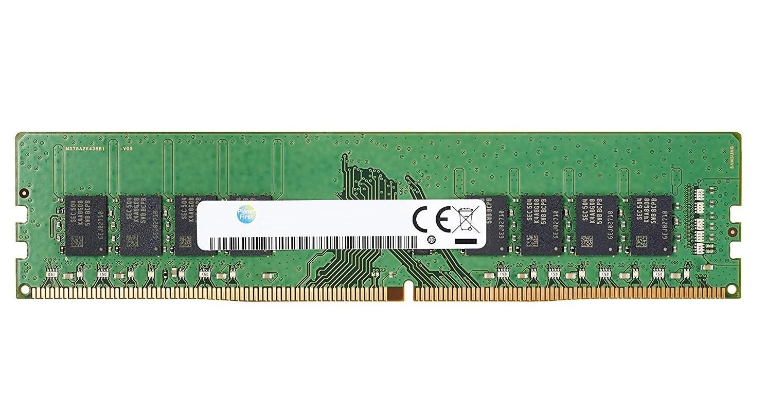 8GB HP PC4-19200 DDR4-2400 288pin Non-ECC Memory Z9H60AA