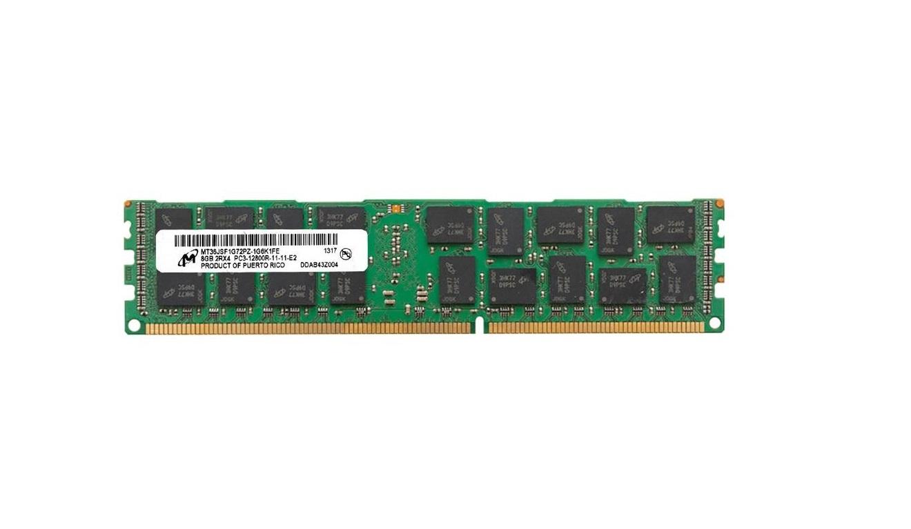 8GB Total Micro PC3-12800 DDR3-1600MHz ECC Registred Memory 647899-B21-TM