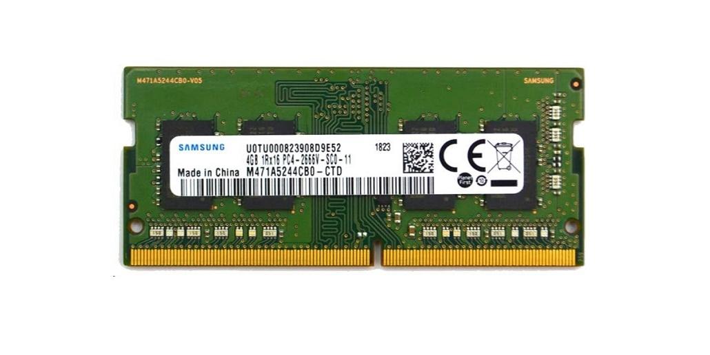 Hp 4GB DDR4 2666MHz PC4-21300 Sodimm 260pin Unbuffered Non-ECC Memory 3TK86AT
