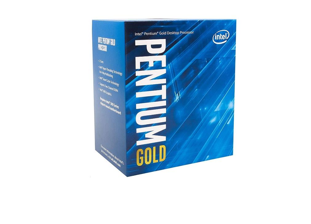 Intel 3.8GHz Pentium Gold G5500 LGA1151 4MB Processor BX80684G5500 W Fan