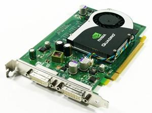 Hp 256MB Quadro FX370 DVIx2 Graphics Adapter Pci Express x16 GP528AA Card
