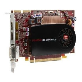512MB ATI 100-505553 FirePro V5700 DVI 2x DisplayPort PCI Express 2.0 x16 Video Card 100505553
