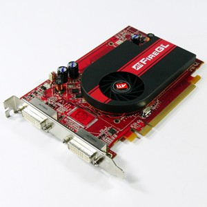 Hp 256MB  Ati Firegl V3350 Pci Express Dual Dvi Workstation Video Card 441850-001