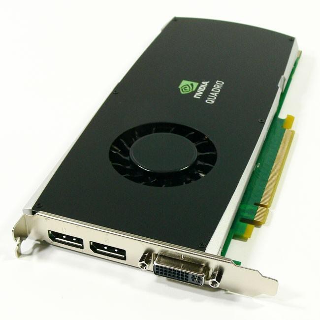 1GB HP nVIDIA Quadro FX3800 DDR3 PCI-E x16 DVI 2x DisplayPort FY949AA