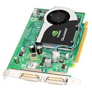 256MB HP nVIDIA Quadro FX370 PCI Express x16 DVI Graphics Adapter 456136-001