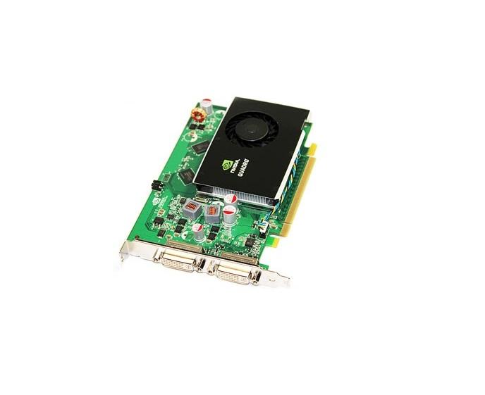 256MB HP nVIDIA Quadro FX380 PCI-E 2-Ports DVI GDDR3 NB769AA Graphics Card