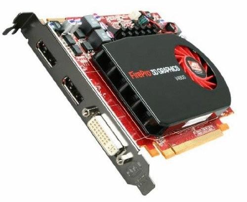 1GB ATI FirePro V4800 DVI 2x DisplayPort PCI-Express Video Card 100505606 100-505606