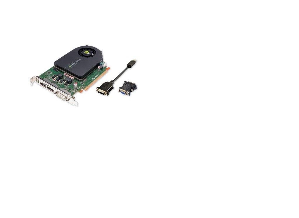1GB HP Quadro 2000 Graphics Card GDDR5 PCI Express 2.0 x16 DVI-I 2x DisplayPort 671136-001