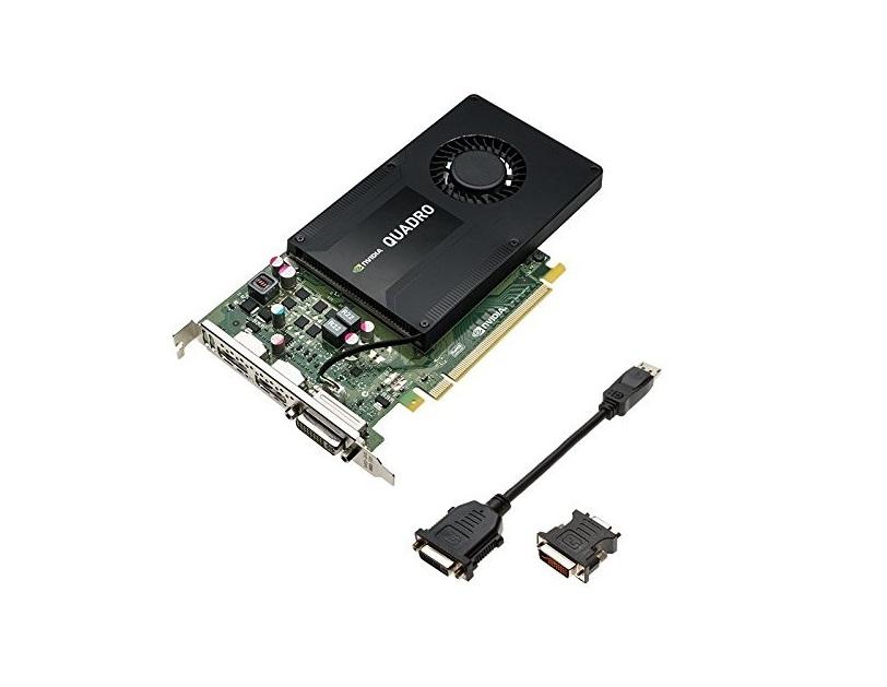 4GB nVIDIA Quadro K2200 GDDR5 DVI 2x Displayports PCI Express 2.0 x16 Graphic Card VCQK2200