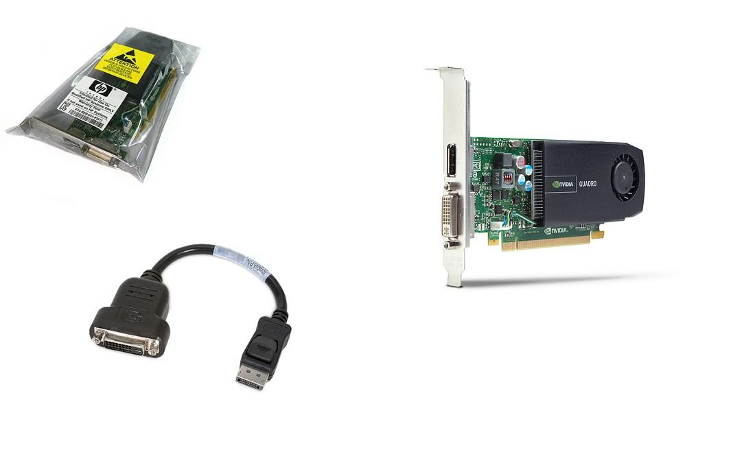 Hp 512MB Quadro 410 Dvi Displayport Pci Express 2.0 x16 Graphic Card 703480-001