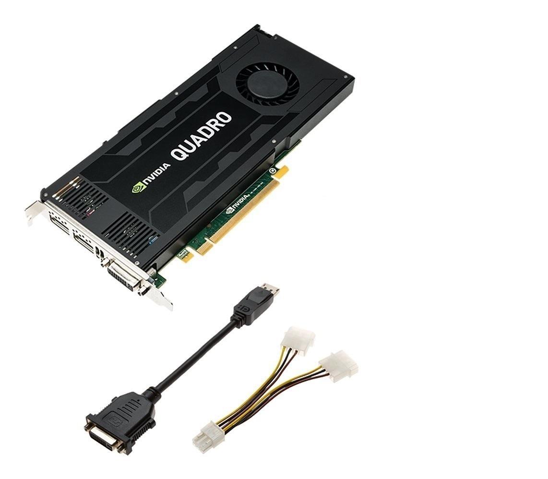 4GB Dell nVIDIA Quadro K4200 DVI 2x DisplayPort PCI Express 2.0 x16 Video Card J4F85