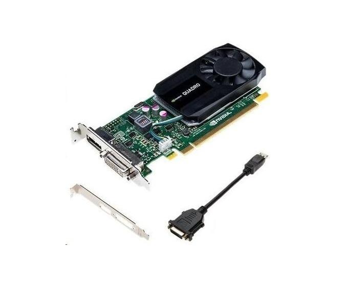 2GB HP nVIDIA Quadro K620 DDR3 DVI DisplayPort PCI Express 2.0 x16 Graphic Card J3G87AA