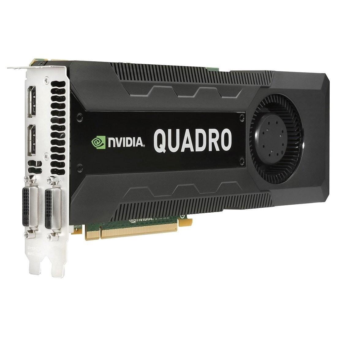 4GB HP Quadro K5000 GDDR5 PCI Express 2.0 x16 Full-height C2J95AA Graphic Card