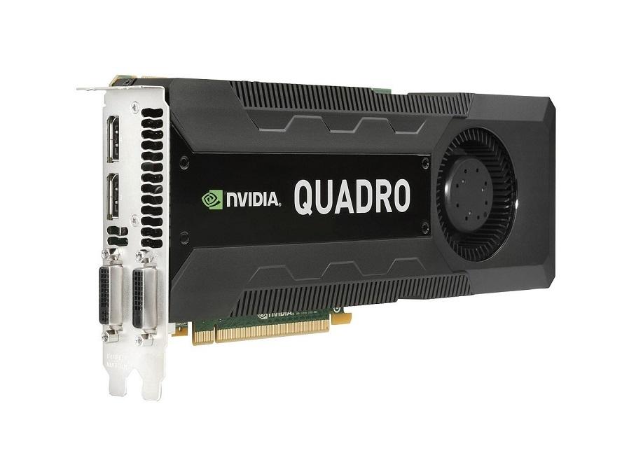 4GB HP Quadro K5000 GDDR5 PCI Express 2.0 x16 699126-001 Graphic Card
