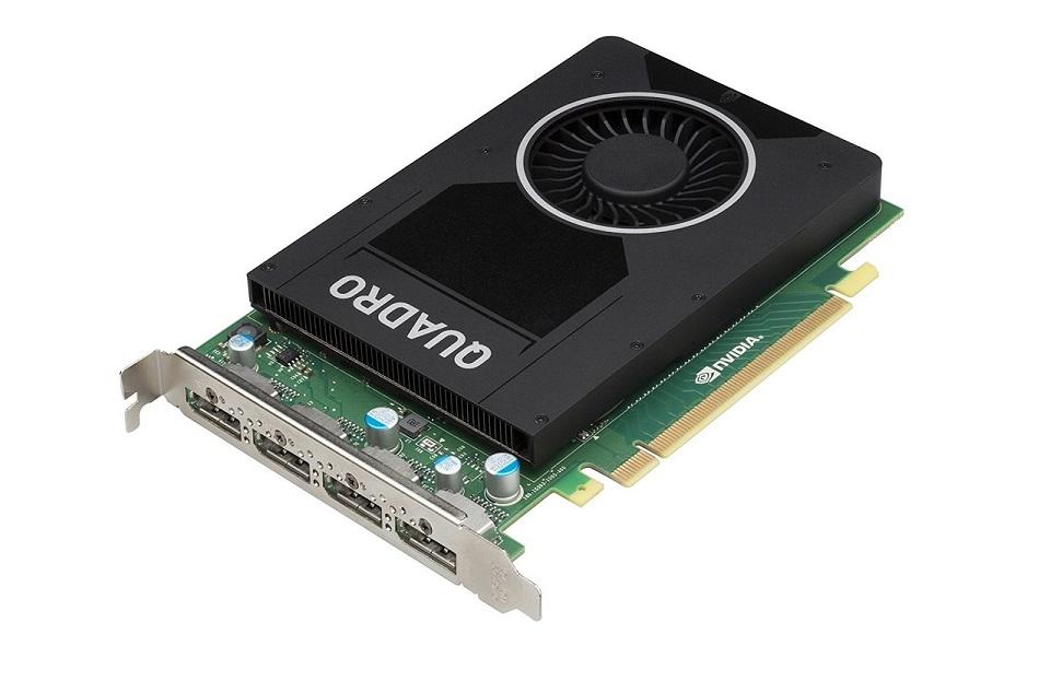 4GB PNY nVIDIA Quadro M2000 4x DisplayPort PCI Express 3.0 x16 VCQM2000-PB Graphics Card