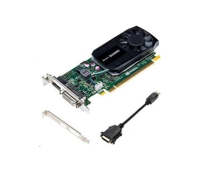 2GB HP nVIDIA Quadro K620 DDR3 DVI DisplayPort PCI Express 2.0 x16 Graphic Card J3G87AT