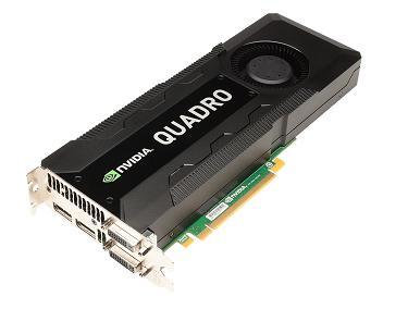 4GB nVIDIA Quadro K5000 DDR5 PCI Express 2.0 x16 Dual Display Port Dual DVI Sli VCQK5000-PB Graphic Card