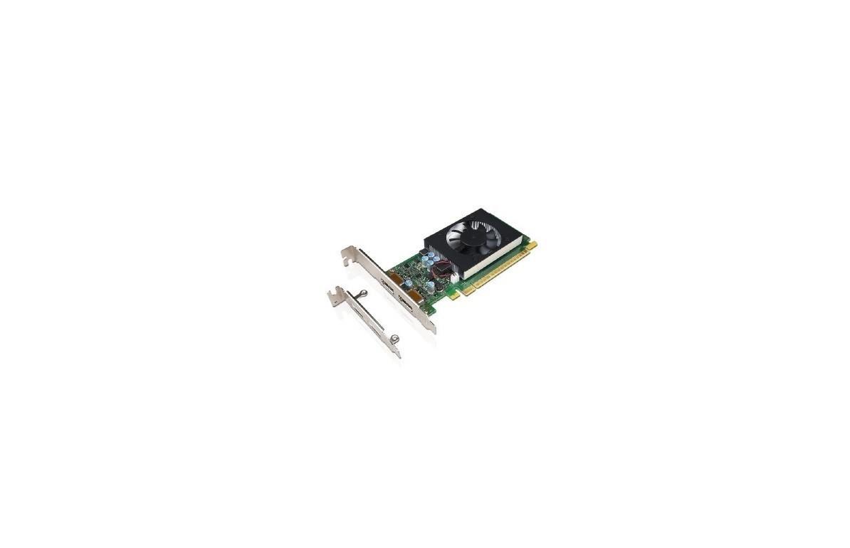 2GB Lenovo GeForce GT 730 GDDR5 2xDP PCI Express 2.0 Graphics Card 4X60M97031