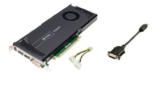 Dell 2GB Quadro 4000 Pci Dvi 2x Dp Express 2.0 x16 GDDR5 6WTYT