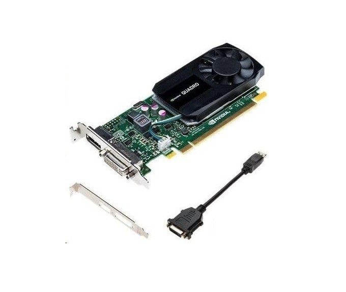 2GB HP 764898-001 nVIDIA Quadro K620 DDR3 DVI DisplayPort PCI Express 2.0 x16 Graphic Card 764898001