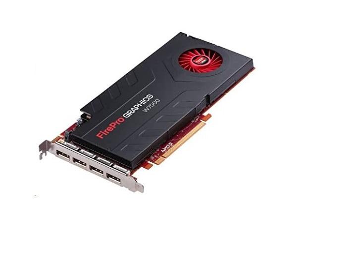 4GB Dell AMD FirePro W7000 GDDR5 4x DisplayPort PCI Express 3.0 x16 Graphic Card CHF4P