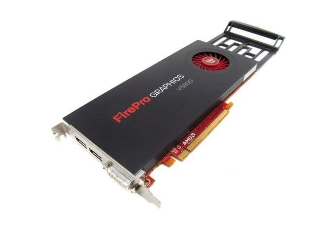 2GB ATI Dell FirePro V5900 GDDR5 P DVI Dual DisplayPort Ci Express x16 Graphics Card 5DRVJ