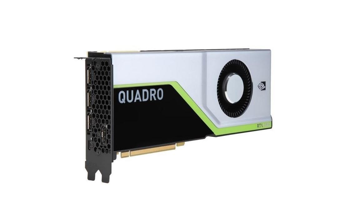 24GB PNY nVIDIA Quadro Rtx 6000 DVI 4x DisplayPort USB-C RTX6000 PCI Express 3.0 x16 VCQRTX6000-PB