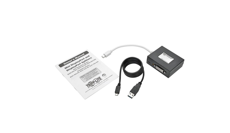 Tripp Lite MDP To 2xDVI Splitter B155-002-DVI