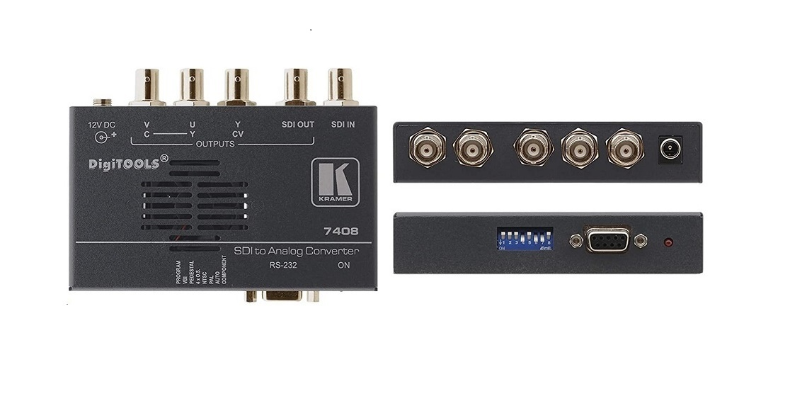 Kramer 7408 Sdi To Multi-Format Analog Video Format Converter 90-0740890