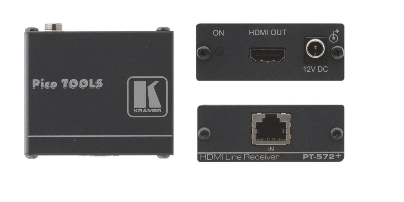 Kramer Electronics Hdmi Hdcp 2.2 Receiver Video Extender PT-572+