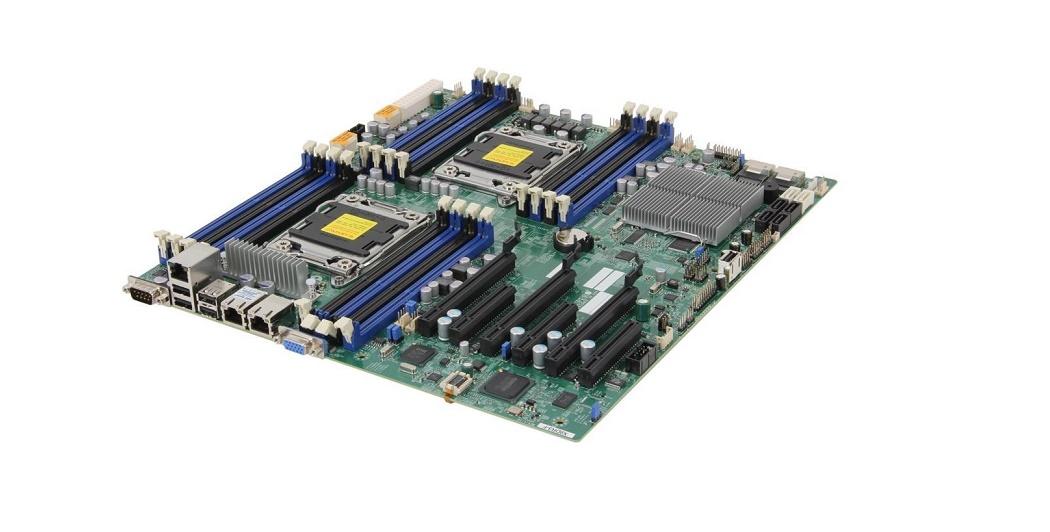Supermicro Super Micro X9DR3-F Intel C606 DDR3 Dual Socket LGA2011 Atx Server Motherboard MBD-X9DR3-F-O