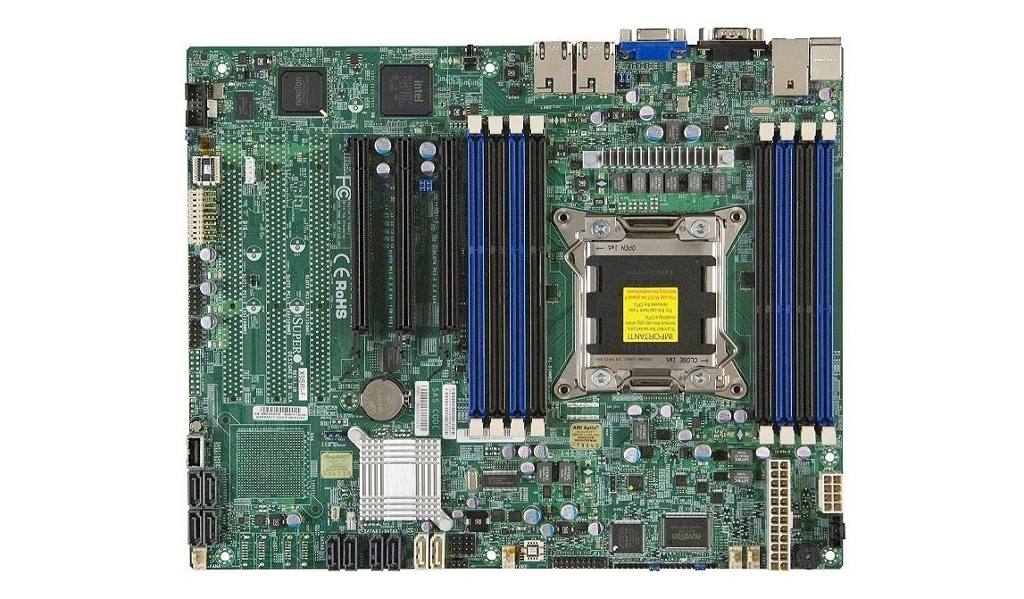 Supermicro X9SRi-F Intel C602 Chipset Socket LGA-2011 Atx Server Motherboard MBD-X9SRI-F-O