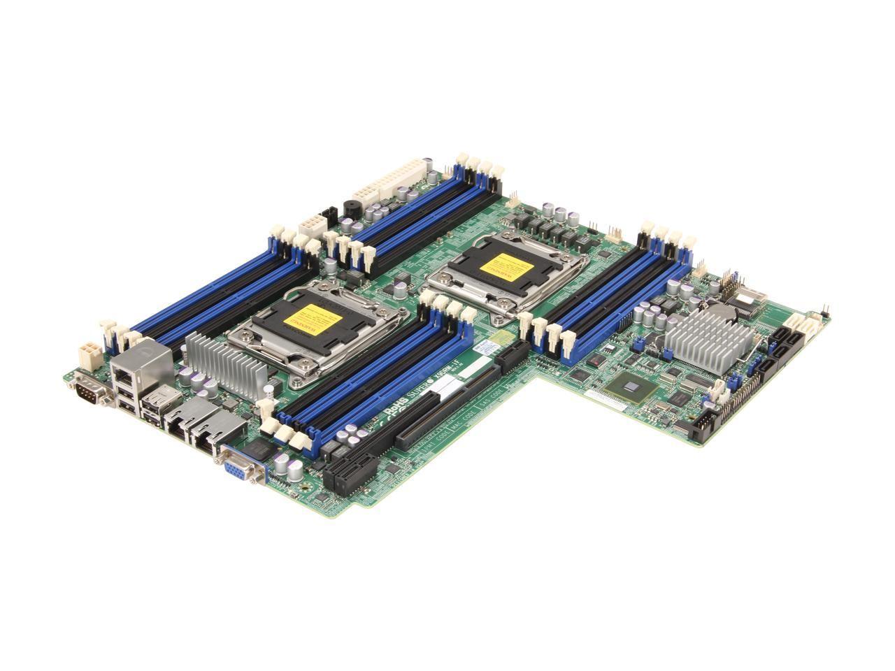 SuperMicro X9DRW-IF Intel C602 Chipset DDR3 Dual Socket LGA 2011 MBD-X9DRW-IF-B Server Motherboard