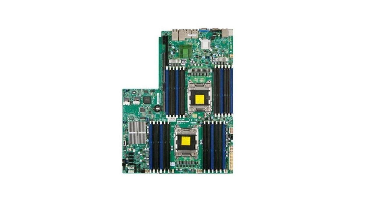 Supermicro X9DRW-3TF+ Intel C606 Chipset DDR3 Dual Socket LGA2011 Motherboard MBD-X9DRW-3TF+-B