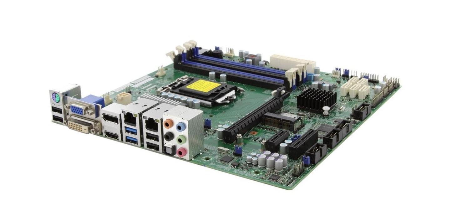 SuperMicro X10SLQ Intel Q87 Chipset DDR3 Single Socket LGA1150 microATX Motherboard MBD-X10SLQ-B